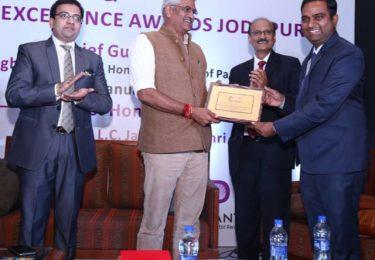 Felicitating Mos. Sh. Ganjendra Singh Shekhawat