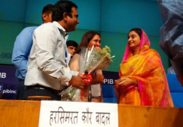 In conversation with Cabinet Minister Smt. Harsimrat Kaur Badal